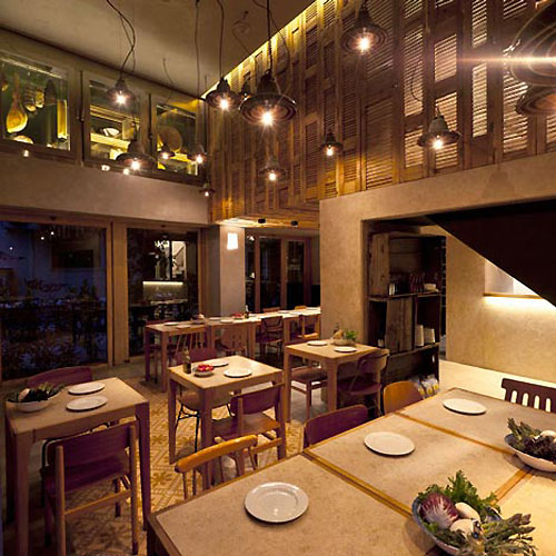 Good Village Interior Pizzeria Modern Restaurant Design