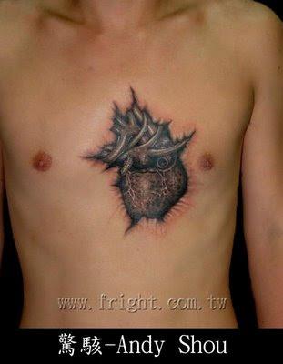 K Heart Tattoo Heart Tattoo Design 2012