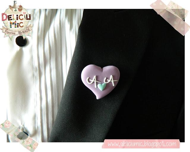 cocarde nunta handmade