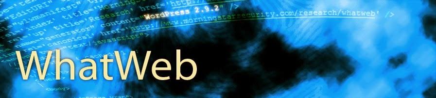 شرح كيفية إستعمال أداة WhatWeb لاستخراج المعلومات من مواقع الأنترنيت