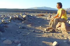 Cristian Riffo Torres, mi ex-alumno, antropólogo social y fiel acompañante en terreno.