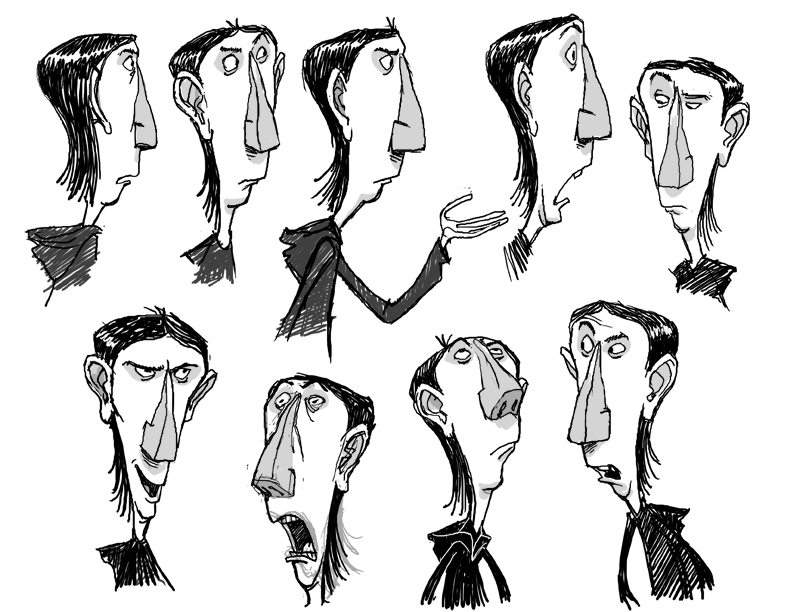 Heidi Smith Character Design Class : Living lines library paranorman character design