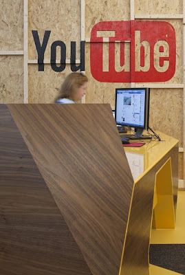 YOUTUBE HQ IN LONDON