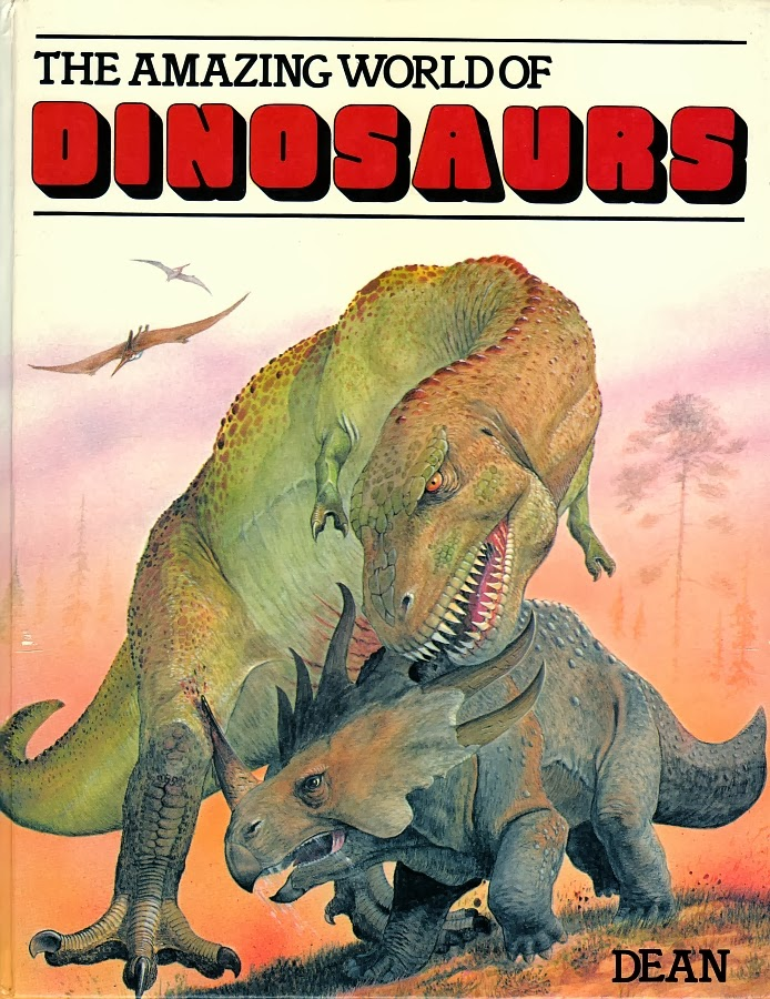 Love in the Time of Chasmosaurs: Vintage Dinosaur Art: The Amazing ...