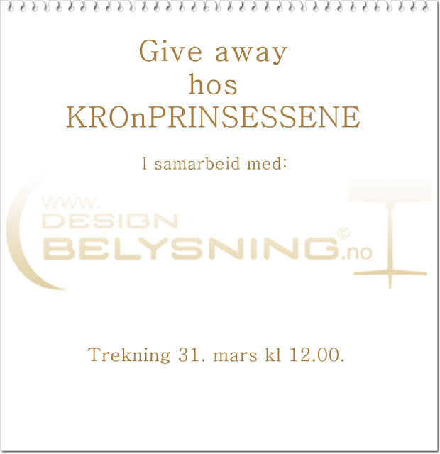 Give away hos KROnPRINSESSENE