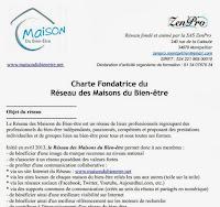 CLIQUEZ ICI POUR DÉCOUVRIR LA CHARTE FONDATRICE DES MAISONS DU BIEN-ÊTRE !