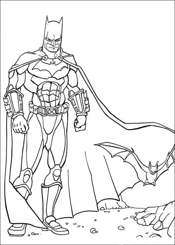 bat mobile coloring book pages - photo#27