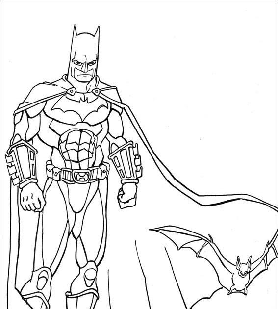coloring pages batman 1 - photo#10