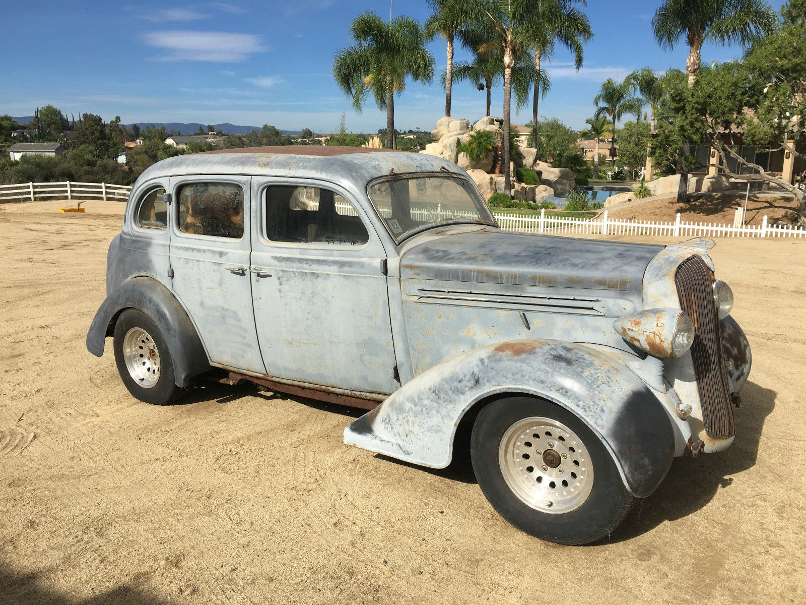 Daily turismo touring project 1936 plymouth sedan for 1936 plymouth 4 door