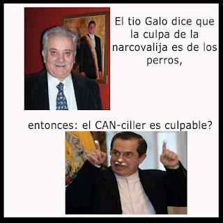 Galo Chiriboga - Fiscal general - Ricardo patiño - narcovalija