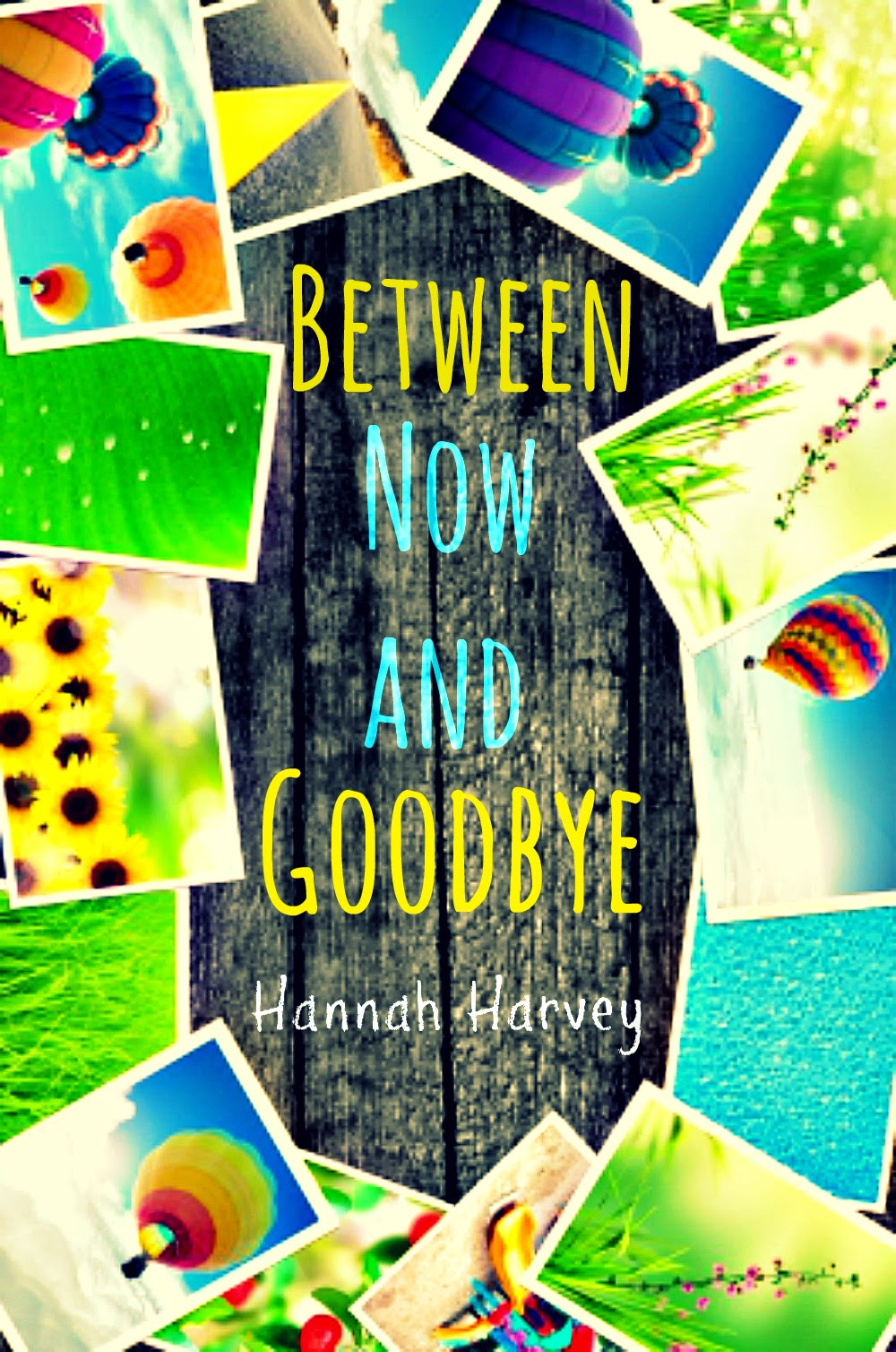Between Now and Goodbye by Hannah Harvey