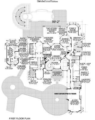 Luxury Homes Design Floor Plan