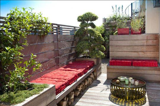 Active idee balcons terrasses - Terrasse sur les toits de paris ...