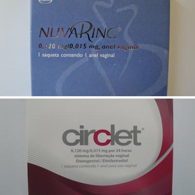 Circlet® e nuvaring® - diferenças