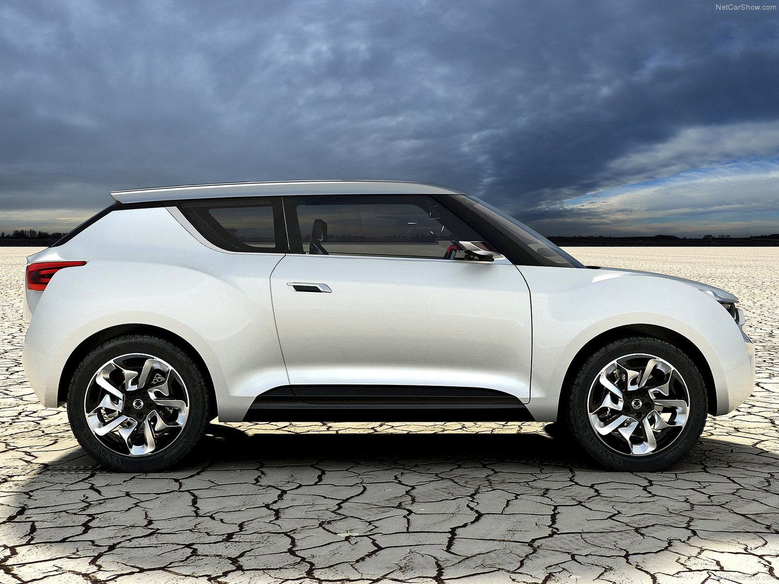 Hình ảnh xe ô tô SsangYong XIV-2 Concept 2012 & nội ngoại thất