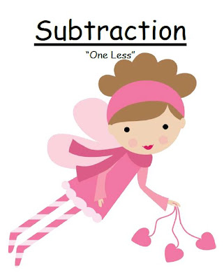 Fern Smith's FREE! Valentines Subtraction One Less Center