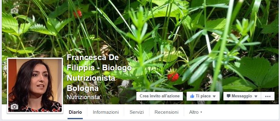 La mia pagina facebook