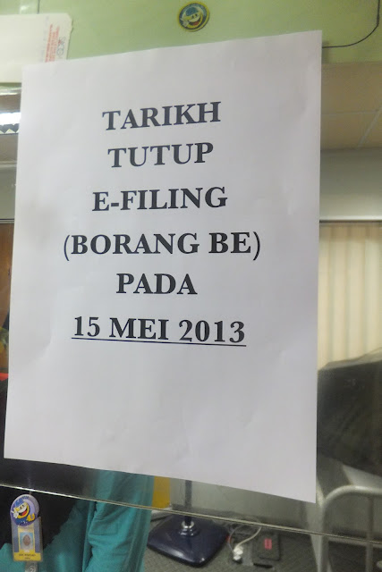 LHDN E-FILING Borang