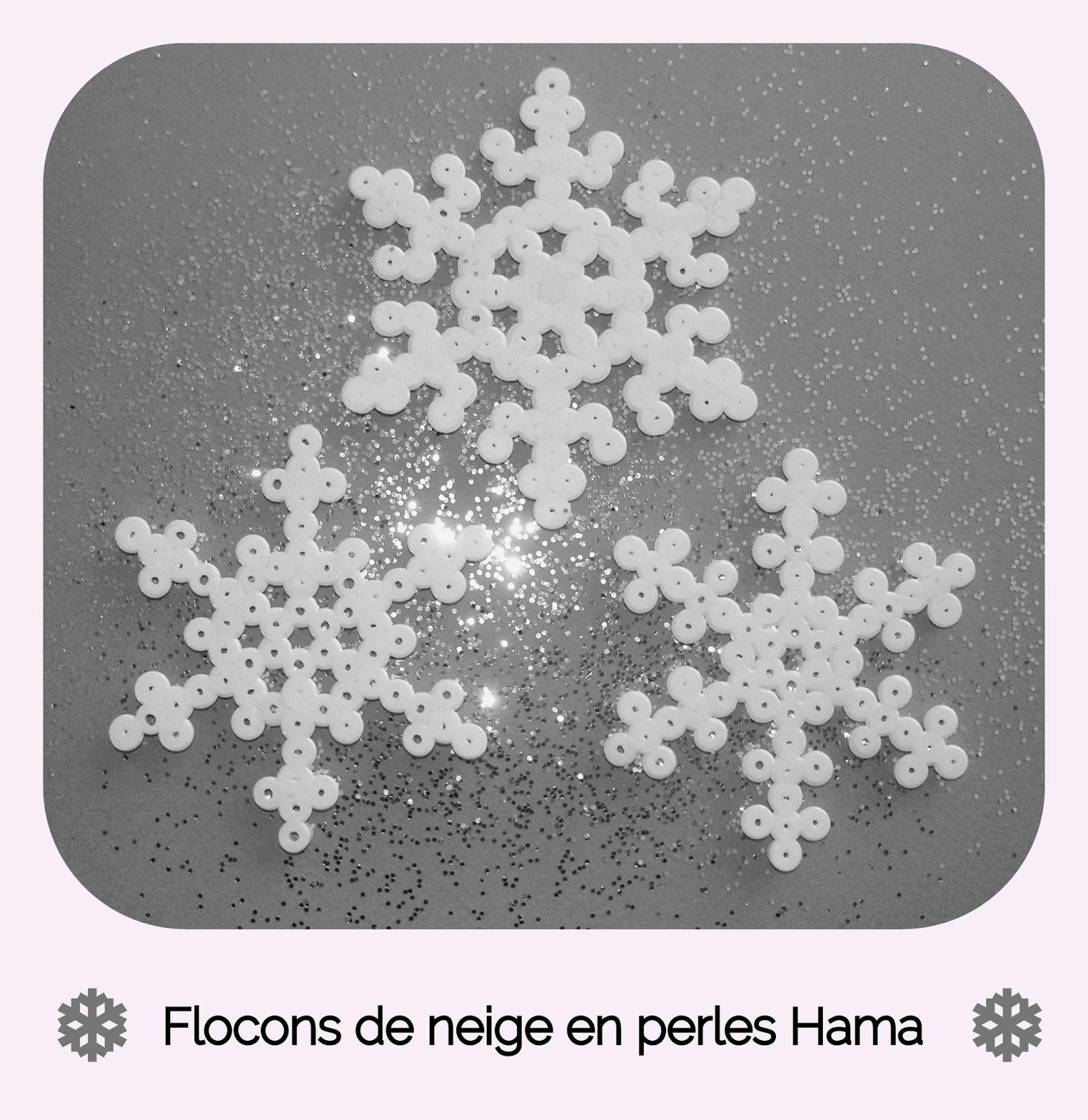 Gabulle in wonderland flocons de neige en perles hama - Perles a repasser modeles gratuit ...