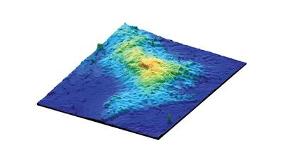 Gunung berapi terbesar di dunia ditemui di bawah Lautan Pasifik