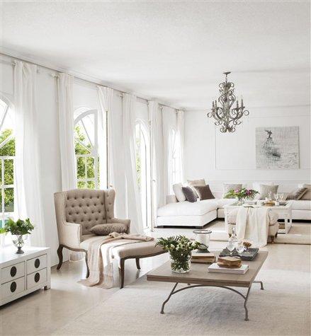 Dec rate la casa septiembre 2012 - Como hacer unas cortinas para el salon ...