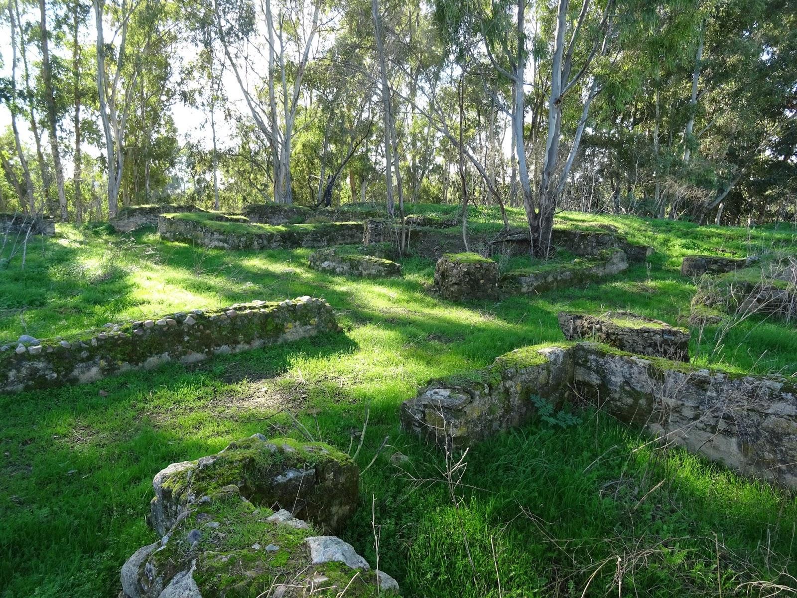 Villa romana de Pesquero, en Pueblonuevo del Guadiana