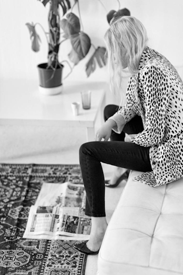 Emerson Fry leopard print coat