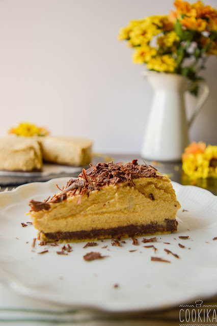 Pumpkin Cheesecake (VG)