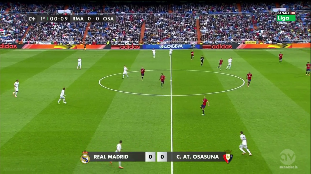 InfoDeportiva - REAL MADRID VS OSASUNA, ONLINE