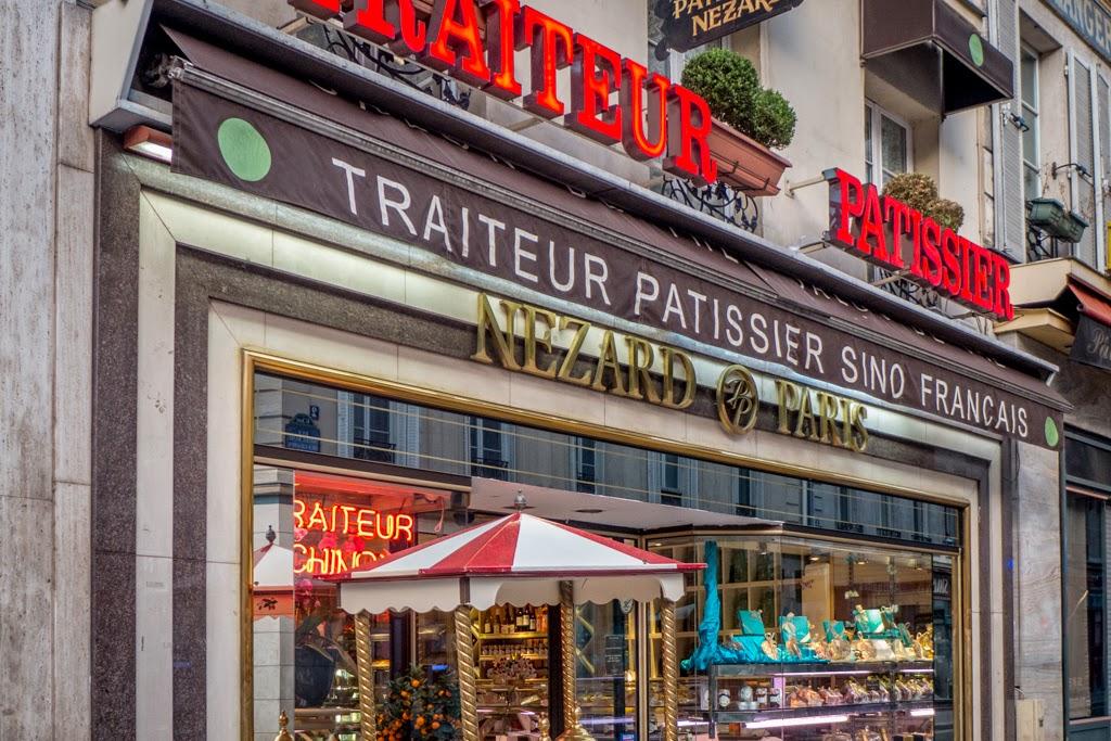 Paris France pastry shop near St Placide metro