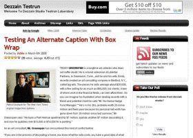 Box Tube Template - 2 Column, Adsense Optimized
