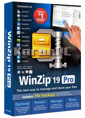 WinZip Pro 19.5 Build 11532 + KeyGen