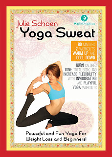 Yoga Sweat DVD - Powerful And Fun Yoga Weight Loss #yogaweightloss