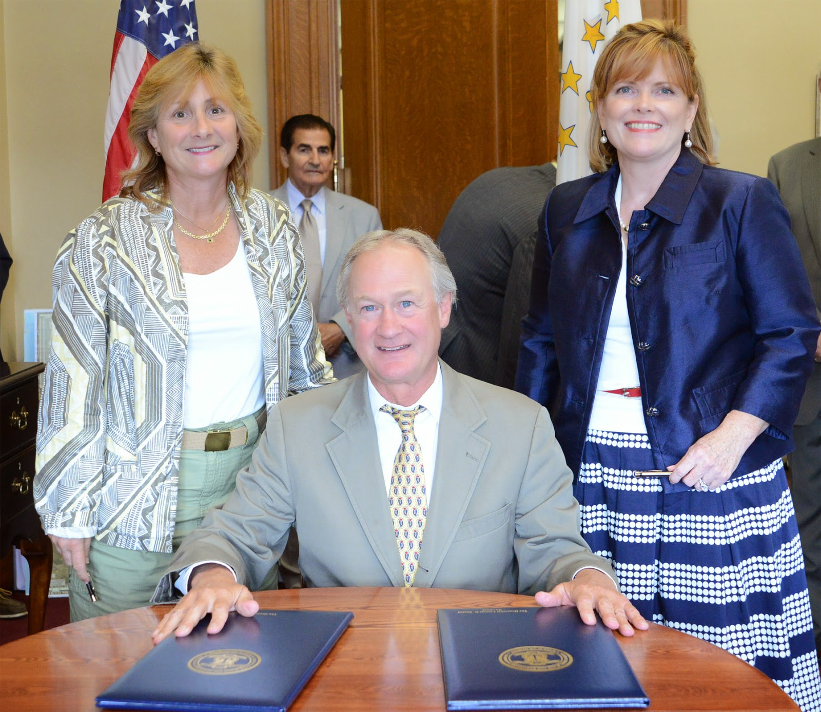 Suspect Id D In Colorado School Shooting That Leaves 1: Progressive Charlestown: Gov. Chafee Signs Cool Rumsey