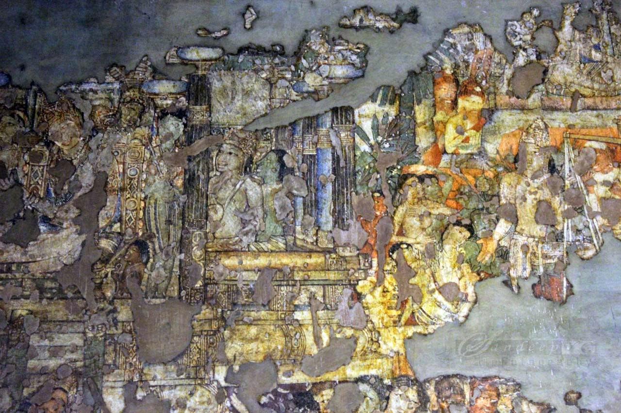 Wall Paintings at Cave 1