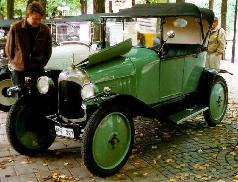 1919 Citroën A 8CV Torpedo
