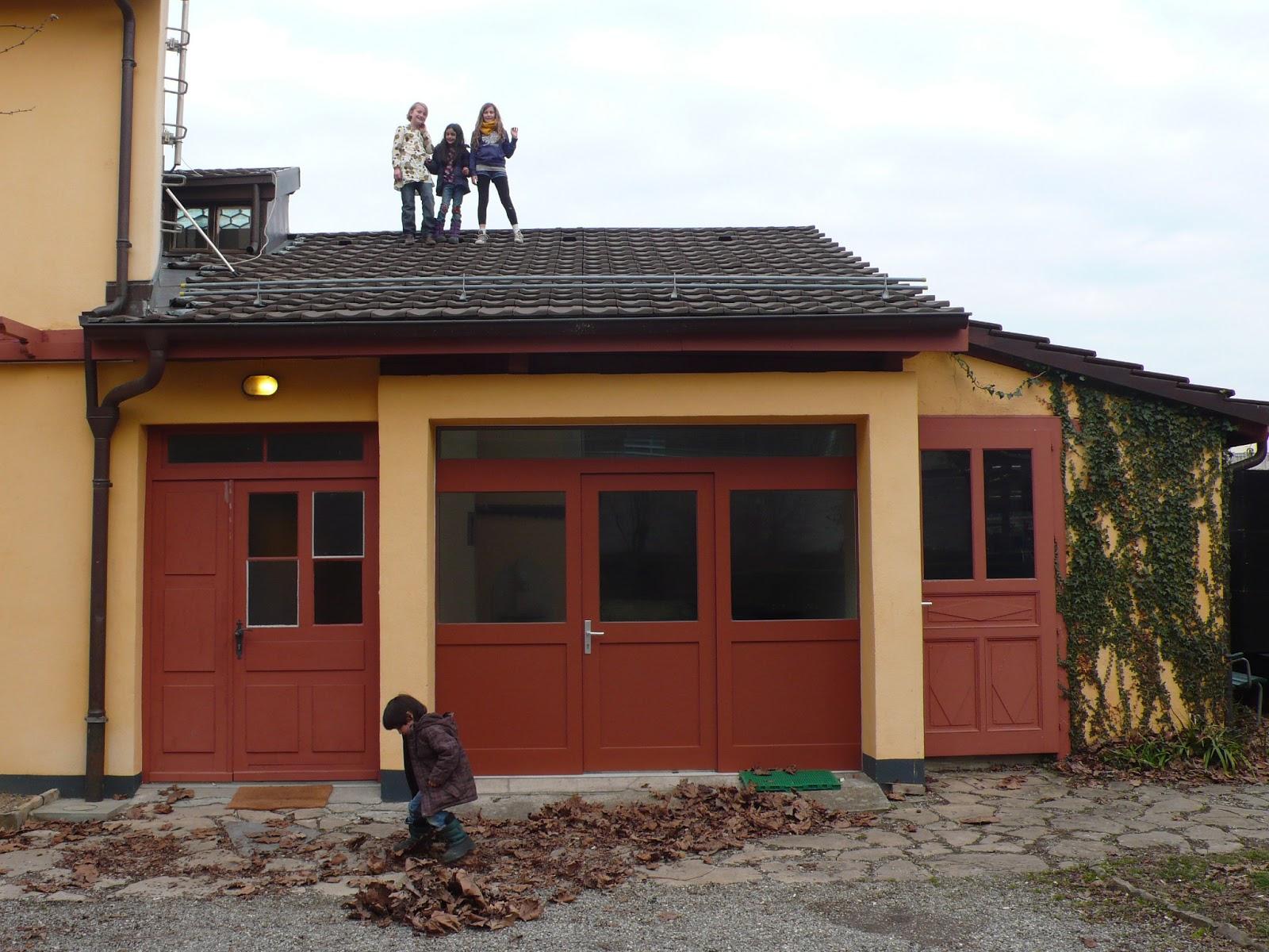 Tonamiepourtoujours maison baron annexe for Annexe garage