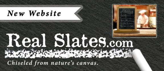 RealSlates.com - Our new website for genuine slate goods.