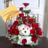 Karangan Bunga untuk Kado Bayi Laki-laki