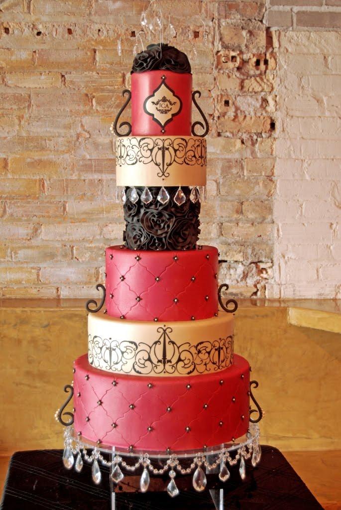 Gateauxs Cake Log October 2011 - Godfather Wedding Cake