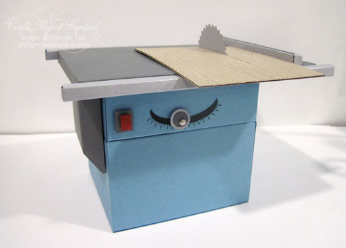 Table Saw Gift Card Holder