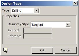 Design Type panel