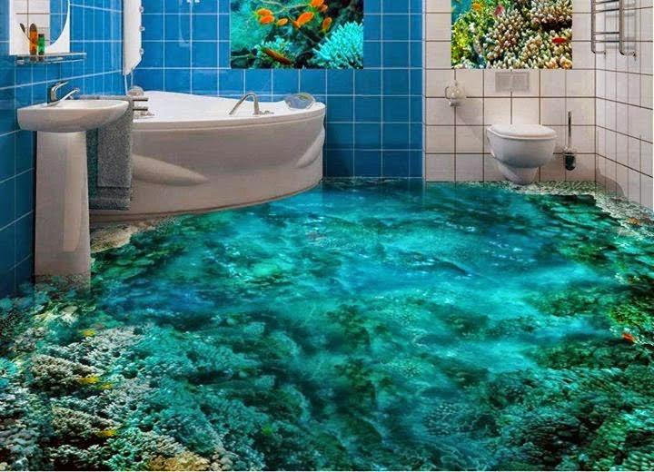 , ديكور الحمام