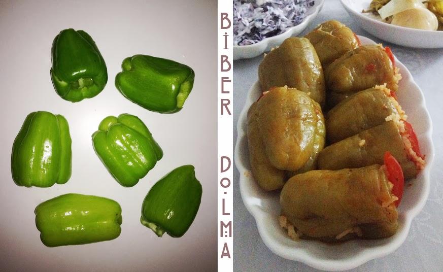Recette turque les poivrons farcies - Que cuisiner avec des poivrons ...