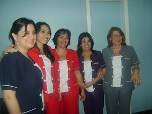 FUNCIONARIAS DEL HOSPITAL DE LOS LAGOS
