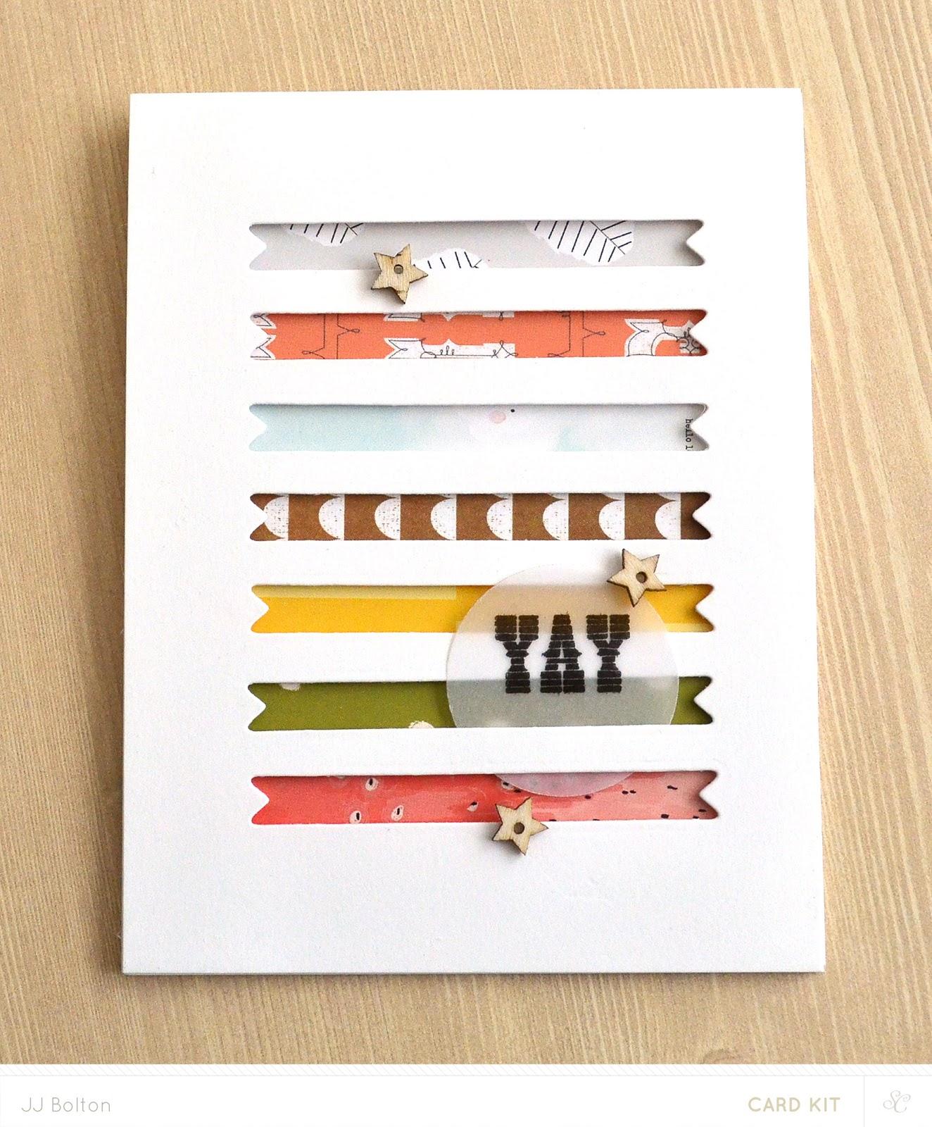jj bolton handmade cards studio calico penny arcade reveal