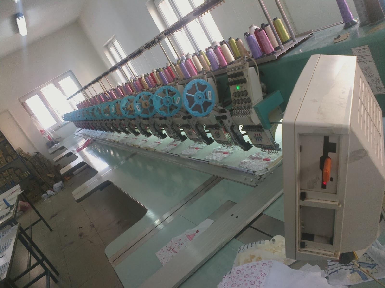 nakış makinaları - nakış işleme merkezi 6