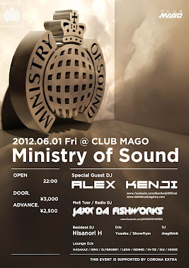 Ministry of Sound feat. Alex Kenji