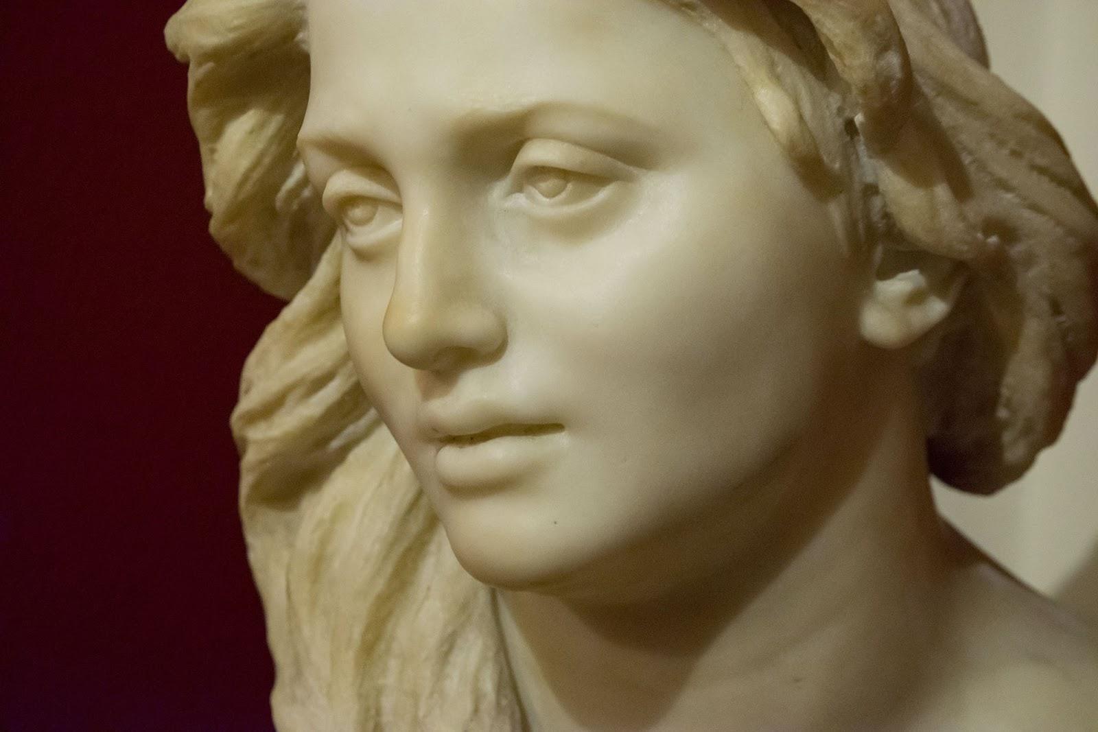 Vincenzo Gemito  usto di Anna detail