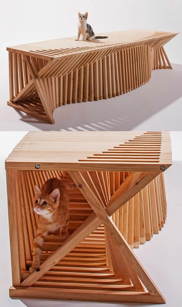 Los mejores y m s lindos dise os de casas para gatos oye juanjo - Casas para gatos baratas ...